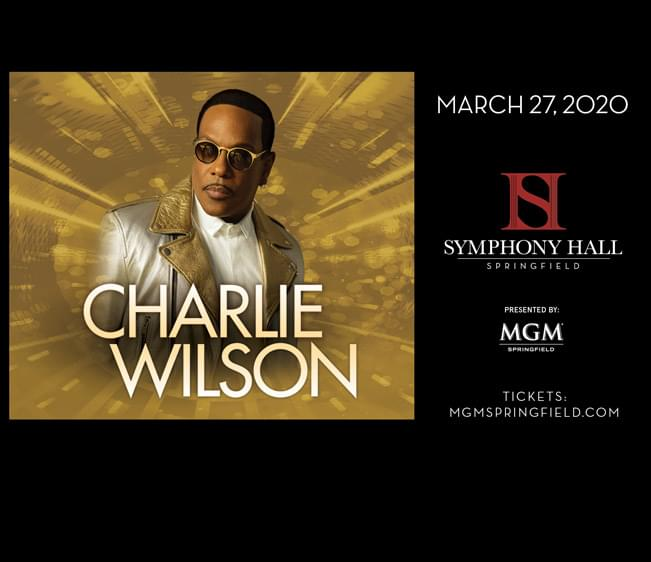 MGM Springfield presents Charlie Wilson