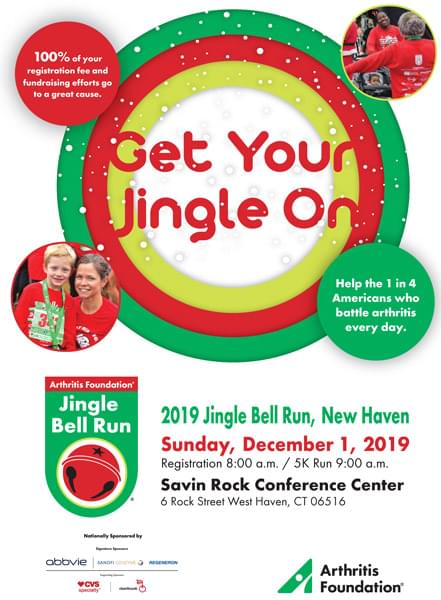 2019 Jingle Bell Run Greater New Haven