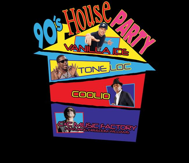 Enter to win: 90s House Party at Mohegan Sun