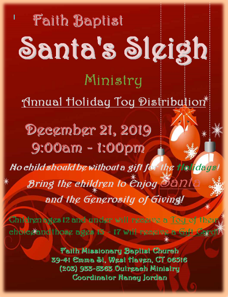 Santa's Sleigh: Annual Holiday Toy Distribution