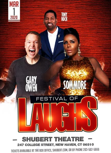 Win Tickets: Festival of Laughs
