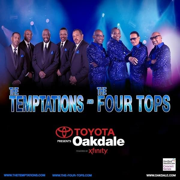 The Temptations and The Four Tops ***New Date***