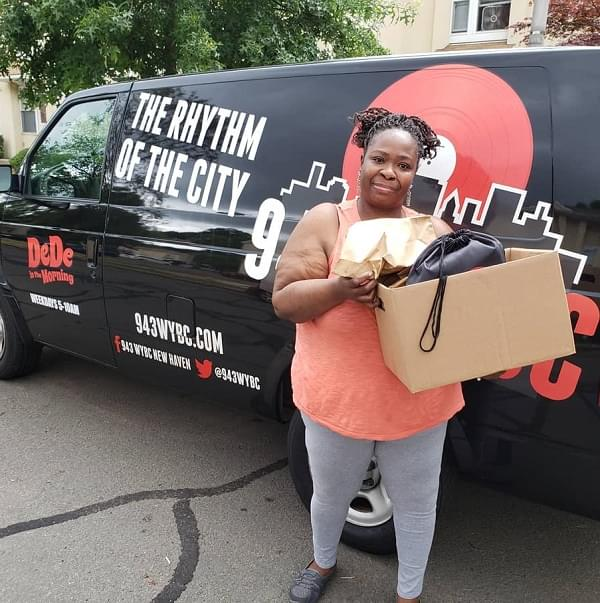 WYBC Virtual Lunch Club Winner: Shantell from New Haven