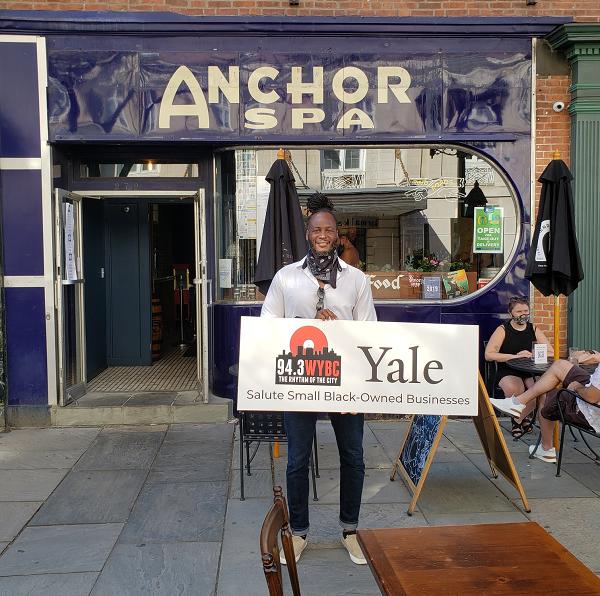 WYBC & Yale salute Anchor Spa Restaurant