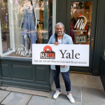 WYBC & Yale salute Neville Wisdom Fashions