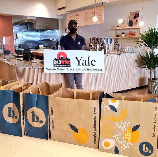 WYBC & Yale salute B-Natural Kitchen