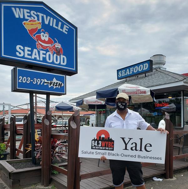 WYBC & Yale salute Westville Seafood