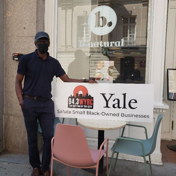 WYBC & Yale University salute B-Natural Kitchen