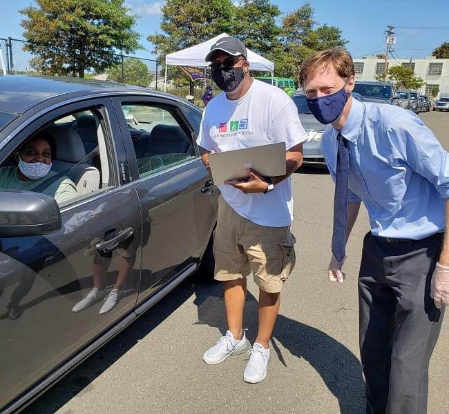 "Photos & Videos: WYBC Griffin Health Sam Tilery ""Back To School"" Drive-Up Rallies"