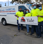 WYBC & Yale salute Mechanical Heating and Air Conditioning Inc.