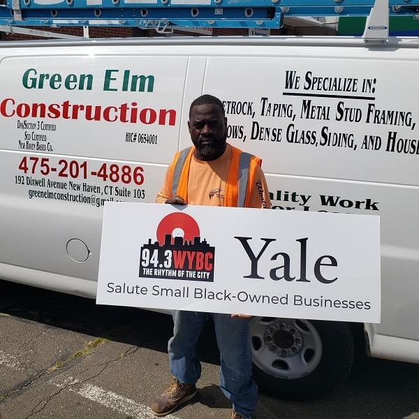 WYBC & Yale salute Green Elm Construction