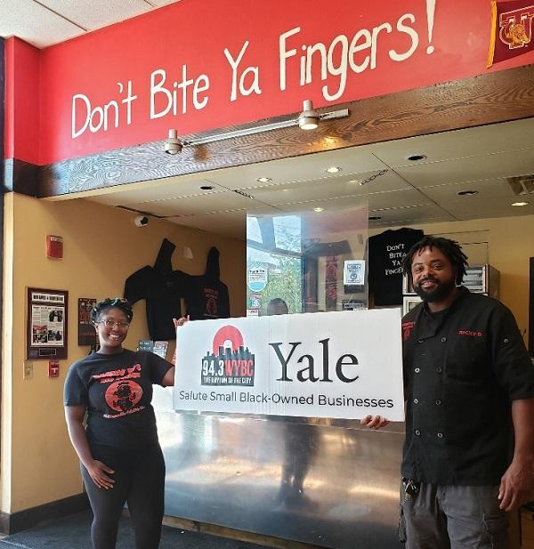 WYBC & Yale University salute Ricky D's Rib Shack