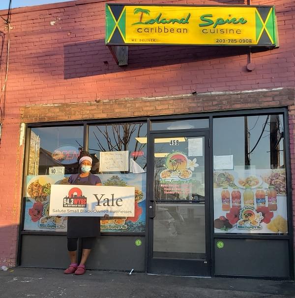WYBC & Yale salute Island Spice Restaurant