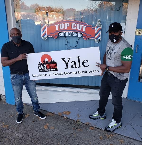 WYBC & Yale salute Top Cut Barbershop