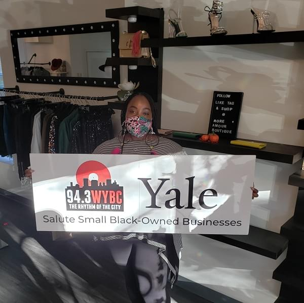 WYBC & Yale salute More Amour Boutique