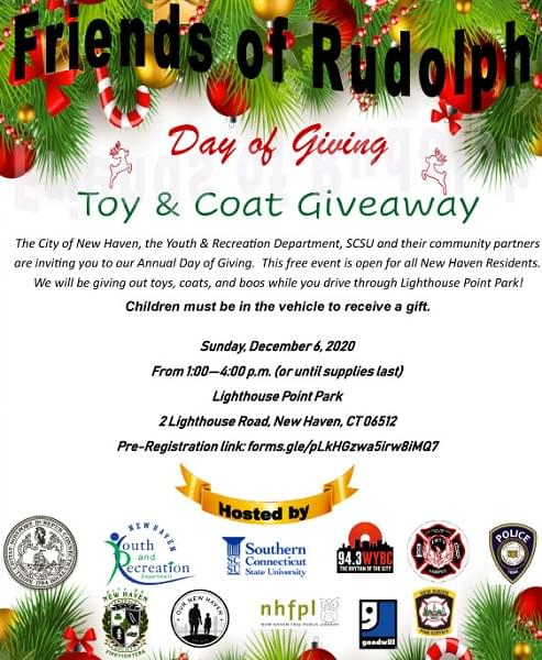Friends of Rudolph Day of Giving