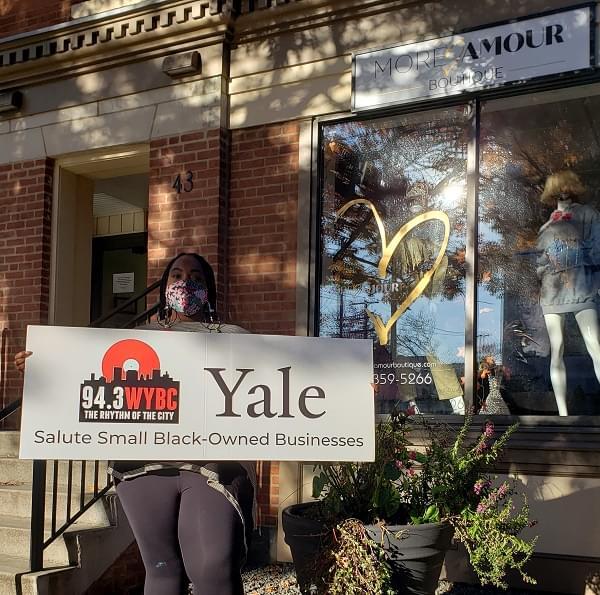 WYBC & Yale University salute More Amour Boutique