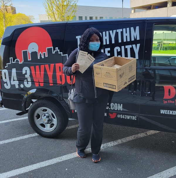WYBC Virtual Lunch Club Winner: Catrice from New Haven