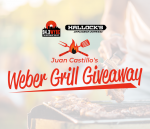 Juan Castillo's Weber Grill Giveaway with Hallock's