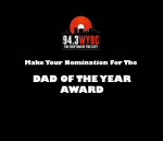 WYBC Dad of the Year Award