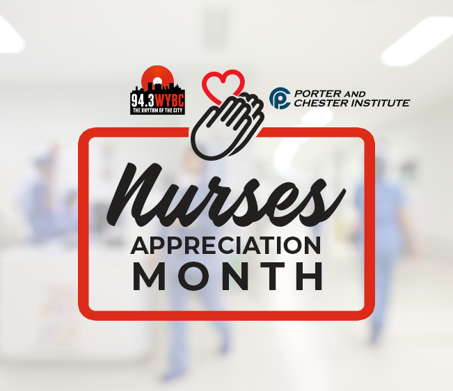 94.3 WYBC Porter and Chester Institute Nurses Appreciation Month