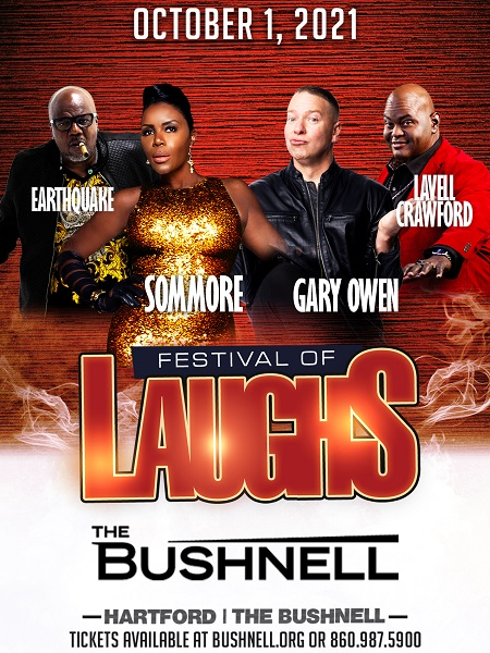 Festival of Laughs at The Bushnell
