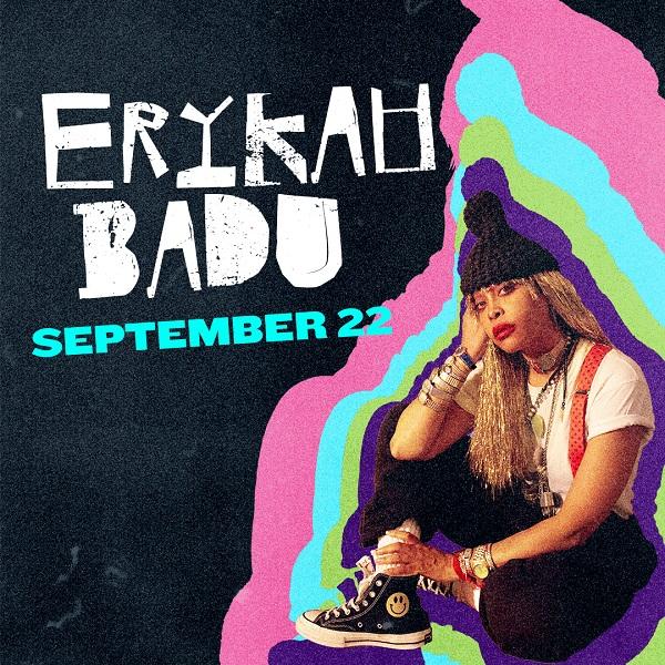 Enter to win: Erykah Badu at Hartford HealthCare Amphitheater