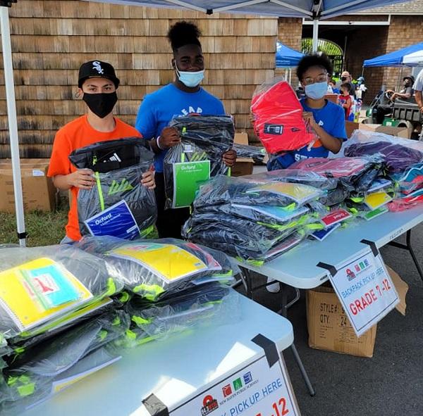 """Photos: WYBC Access Health CT """"Sam Tilery Back To School Rally"""""""