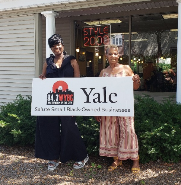 WYBC & Yale University salute Style 2000