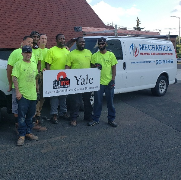 WYBC & Yale University salute Mechanical Heating and Air Conditioning