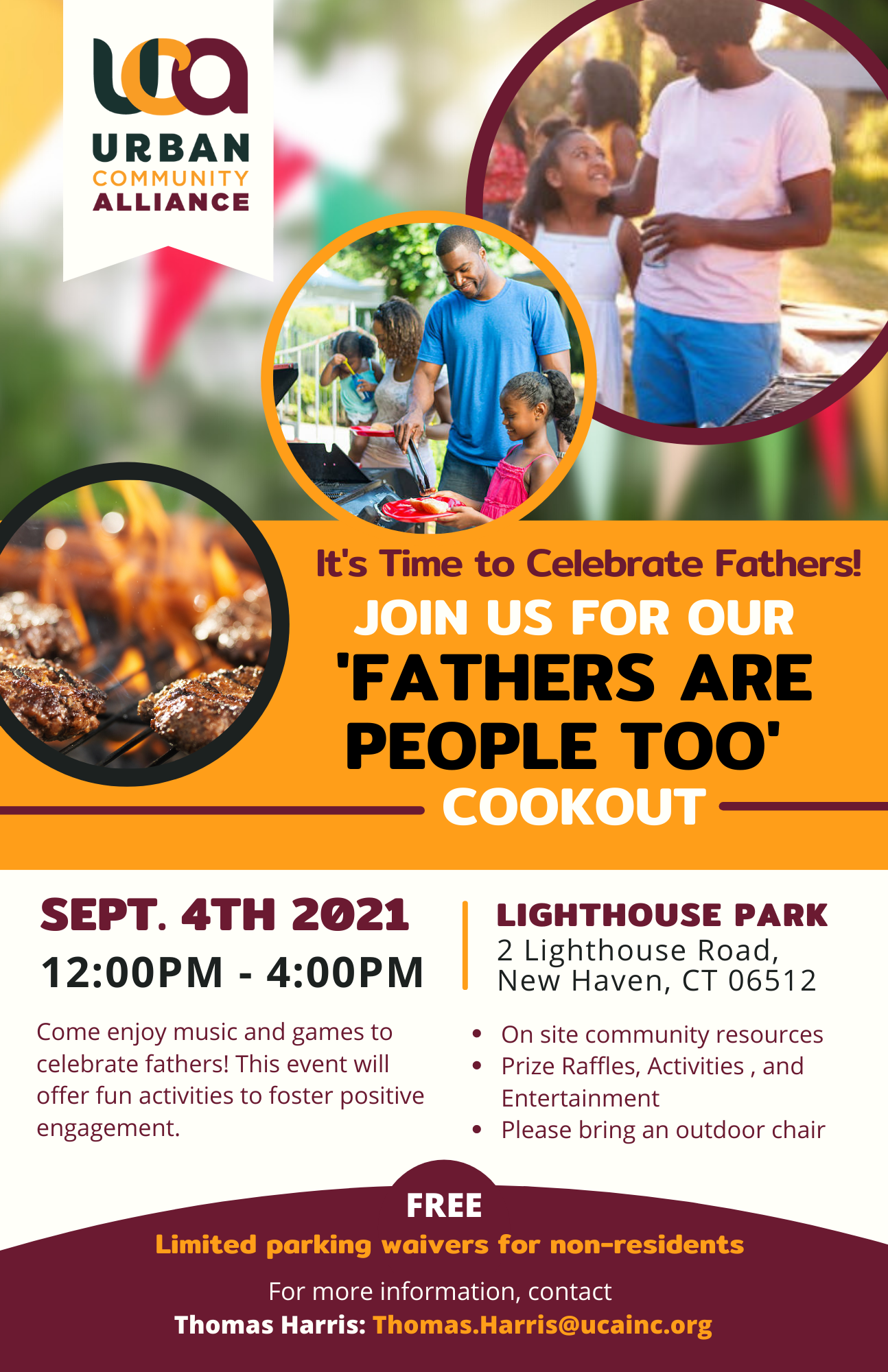 Fathers are People Too Cookout Event