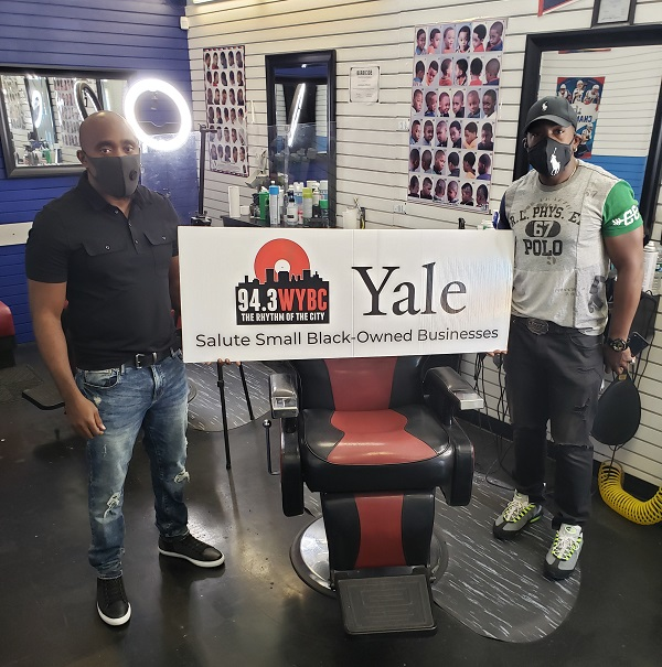 WYBC & Yale University salute Top Cut Barbershop