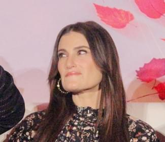 """""""Frozen"""" star Idina Menzel gets her star on the Hollywood Walk of Fame"""
