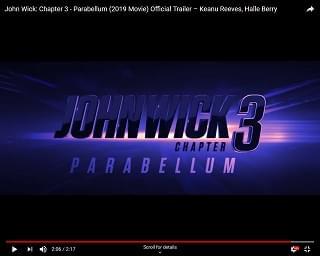"New Trailer For ""John Wick 3"" Drops"