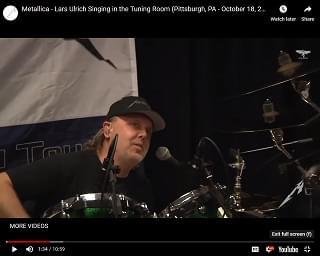 Metallica Shares Judas Priest Cover Featuring Lars Ulrich On Vocals