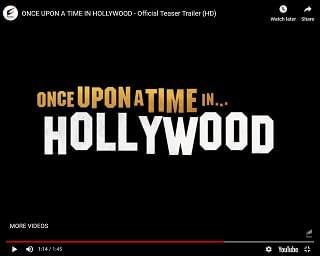 Trailer For Quentin Tarantino's New Film Drops
