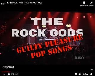 Viral Video: Hard Rockers Admit Their Favorite Guilty Pleasure Pop Songs