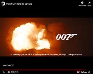 We've Got A First Peek At The New James Bond Film
