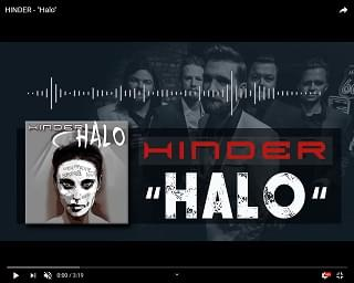 """New Music from Hinder – """"Halo"""""""