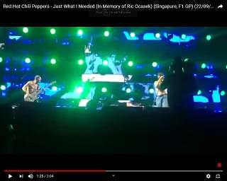 Red Hot Chili Peppers Cover The Cars In Honor Of Ric Ocasek
