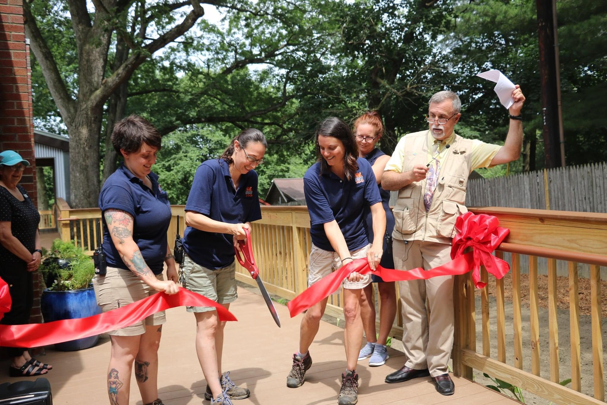 CT's Beardsley Zoo Spider Monkey Exhibit Grand Opening