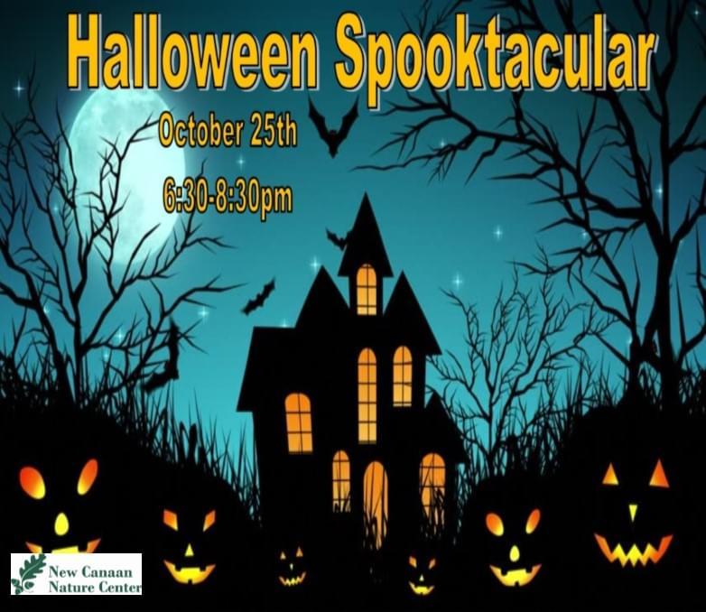New Canaan Nature Center Halloween Spooktacular logo