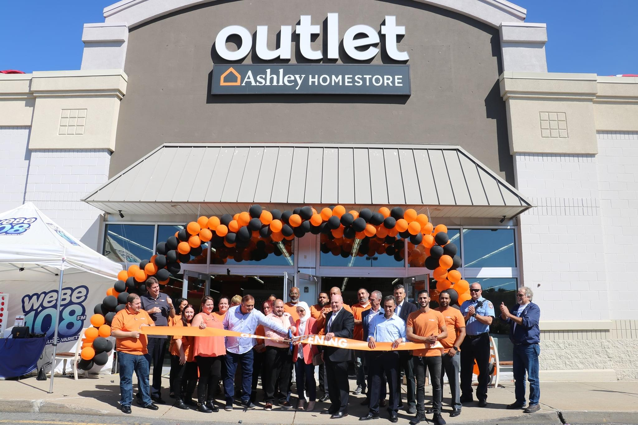 Ashley Homestore Waterbury Outlet Grand Opening