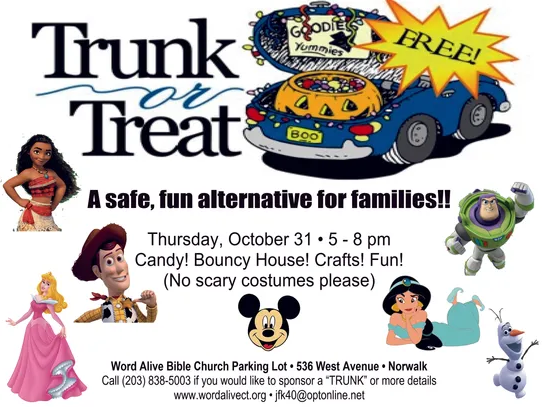 World Alive Trunk or Treat Image