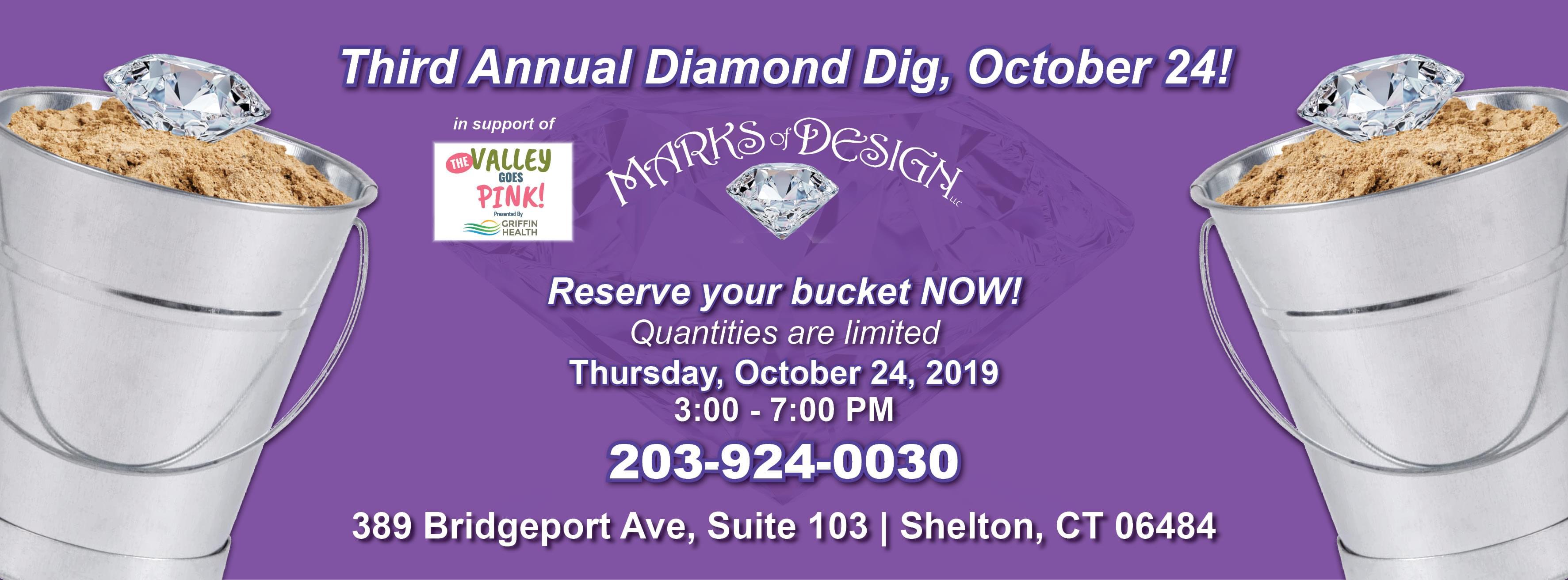 Marks of Design Diamond Dig Logo