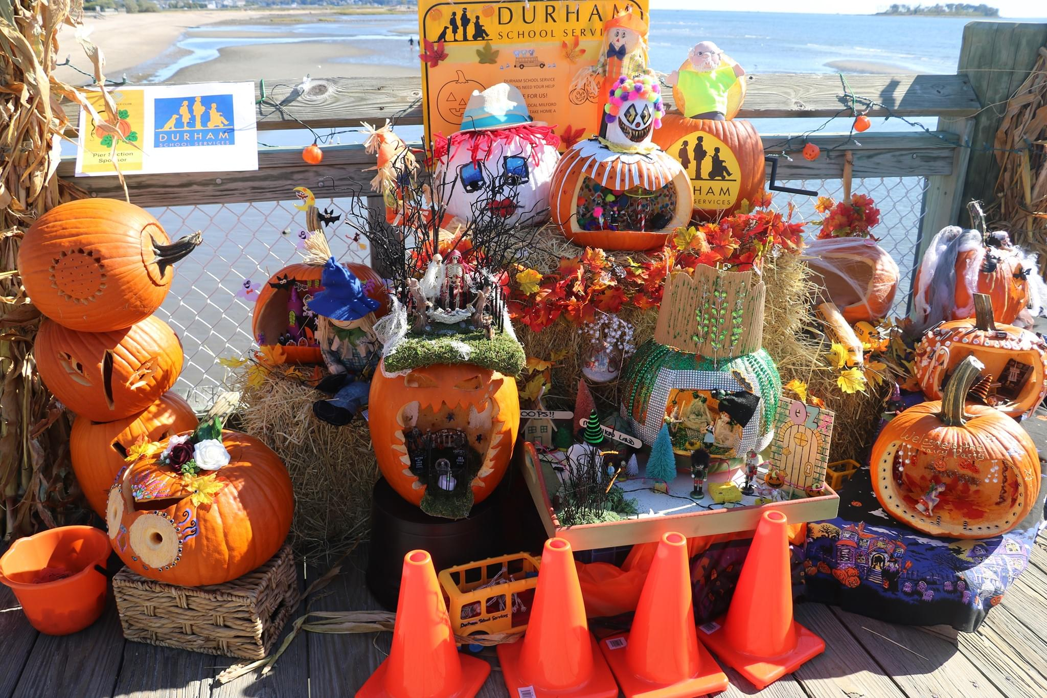 Milford Boys & Girls Club Pumpkins on the Pier