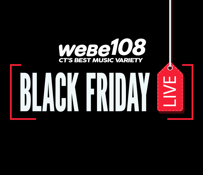 WEBE108 Black Friday Broadcast at Westfield Trumbull Mall