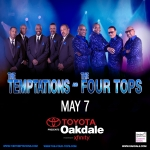 Win tickets to The Temptations & The Four Tops A Night of Solid Gold Hits