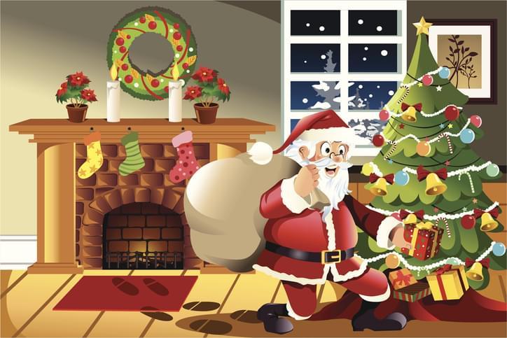 Morning Hack 12/23/2019 Santa's Footprints!