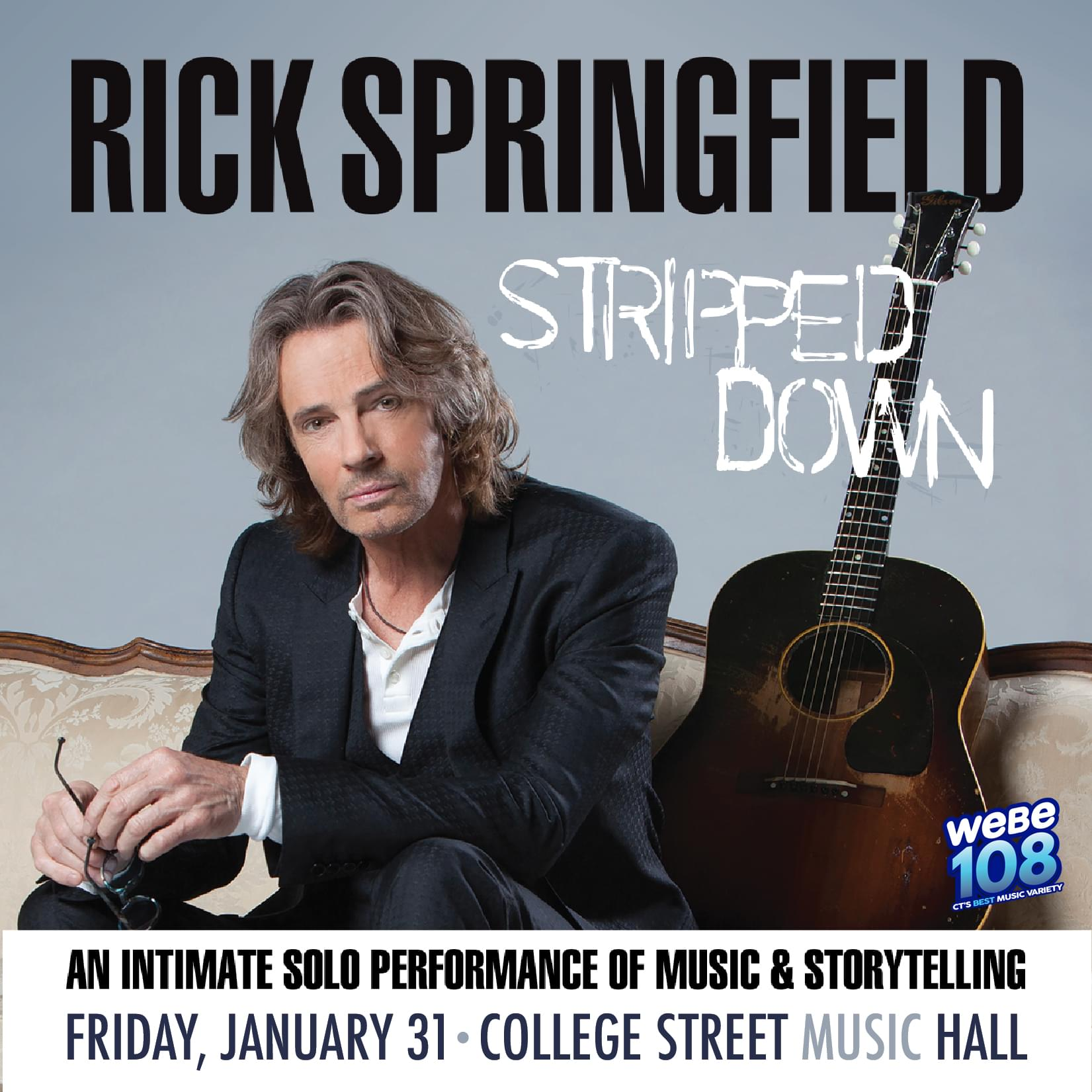Rick Springfield College Street